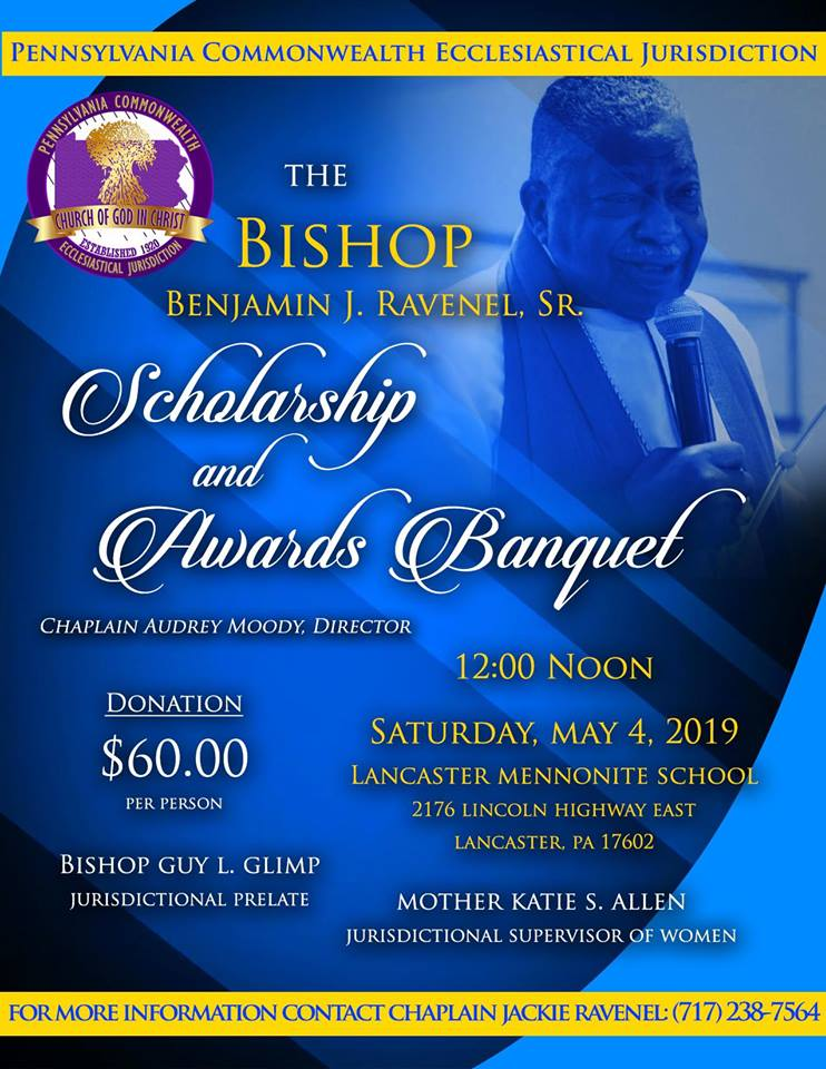 Bishop Benjamin J  Ravenel Scholarship & Awards | Pennsylvania